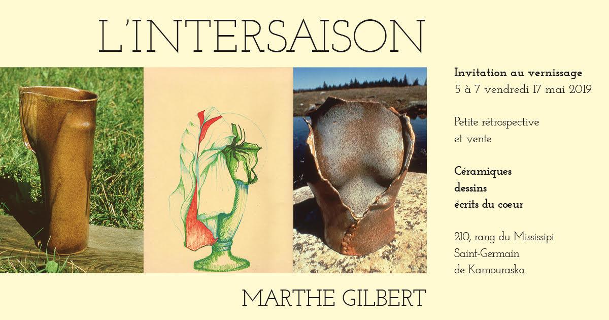 L'INTERSAISON  Marthe Gilbert